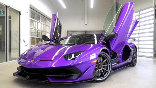 兰博基尼Aventador SVJ限量900,2.8秒破百