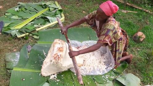 一种假的香蕉树,却养活了成千上万的非洲人,制作方式很奇葩