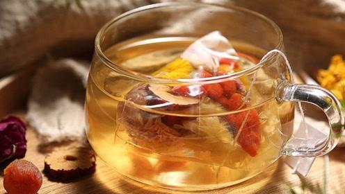 每天一杯枸杞茯苓茶,养精蓄锐身体好,跟肾虚说拜拜