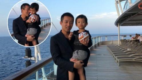 汪小菲儿子正面照 3岁就拥有了大长腿的汪希箖长得好高呀!