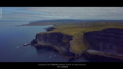 航拍爱尔兰莫赫悬崖