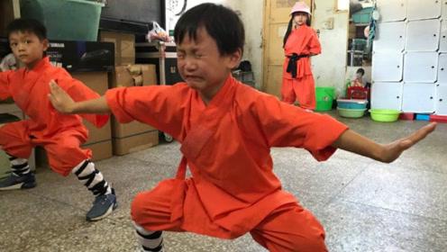 都是知名星二代,黄磊女儿到国外旅游,他却把女儿带去了少林寺!