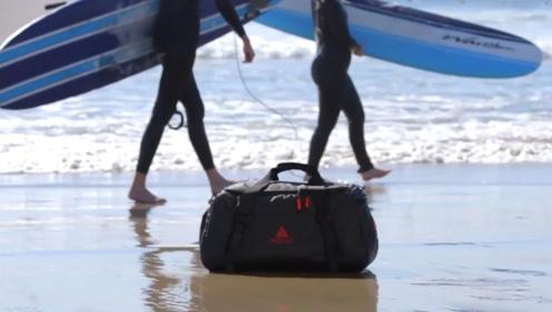 一款高科技旅行袋,自动清除衣服异味,手机也能控制