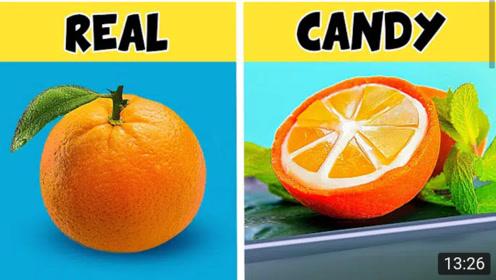 DlY,真实水果VS糖形水果,哪种味道更招人喜欢