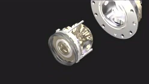 2020款哈弗H9前后差速锁结构与锁止方式展示