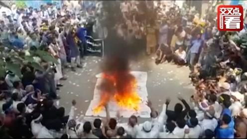 """克什米尔冲突再起 巴基斯坦总理""""放狠话"""":誓与印度抗争至死!"""
