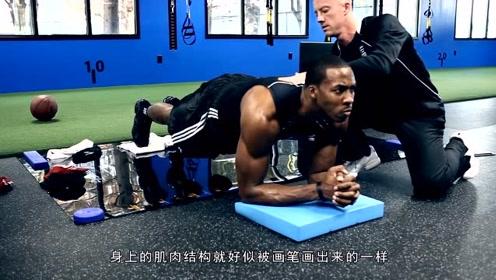 NBA球员身材大比拼:詹姆斯韦德刚硬身材,霍华德像钢铁!