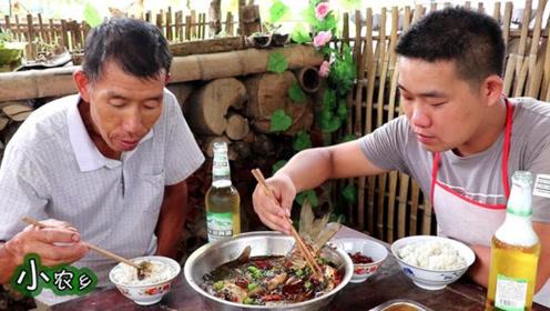 猪肉不能吃?做点老爸爱吃的,小伙2小时炖一锅,老爸筷子停不下