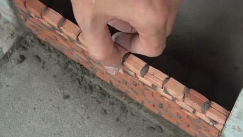 微型建筑,迷你建造:砖墙砌砖   小别墅的建造