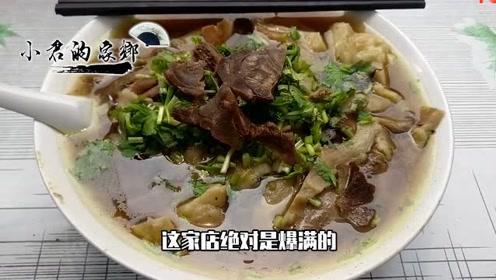 在石家庄一家店吃招牌菜,到了饭点生意火爆,只需要9元钱一碗!