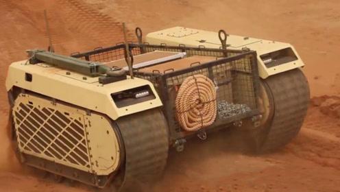 """55度高温下助17吨装甲车脱困!""""正义女神""""无人战车非洲测试"""
