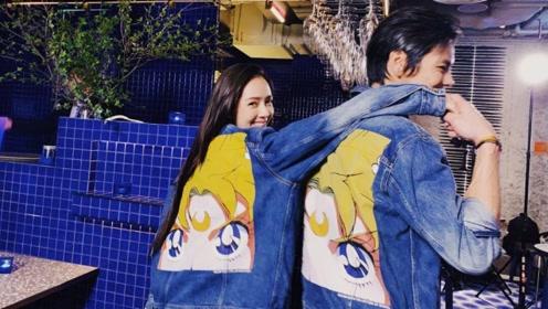 向佐抱着郭碧婷化妆,请注意最后一张镜子里向佐的手,认真的吗?