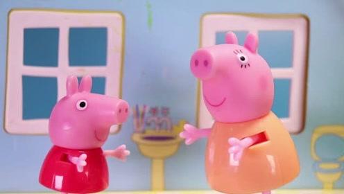 羚羊夫人告诉小猪佩奇要节约水资源 大家知道原因吗 玩具故事