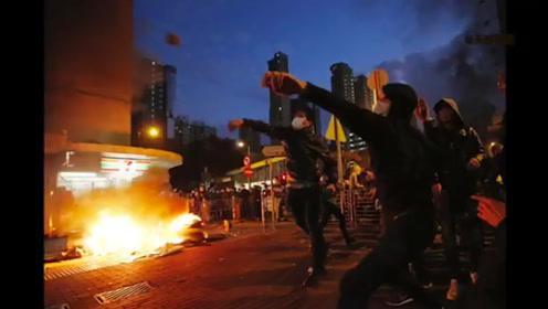 """中国年轻人说唱""""香港之秋""""diss暴徒:我们与暴力对抗到底!"""