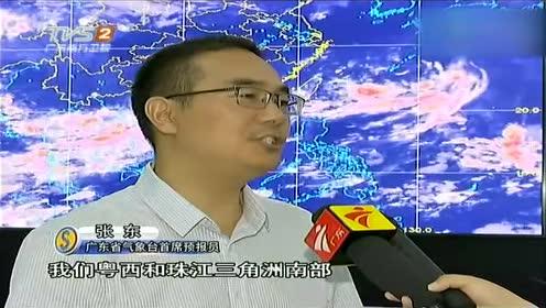 暴雨袭穗 广州持续高温终于可以缓一下了