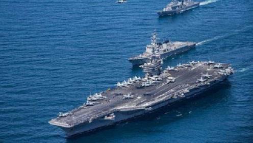 伊美关系持续紧张,波斯湾军力集结,美航母指挥官:只是震慑