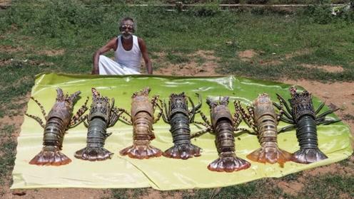 印度巨型龙虾泛滥,请中国吃货前去赈灾,不料倒贴钱都没人吃!