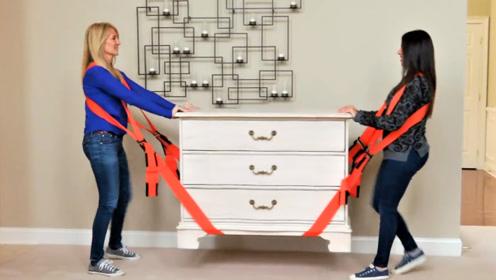 """老外发明了一款""""搬家神器"""",女生也能搬起重物!"""
