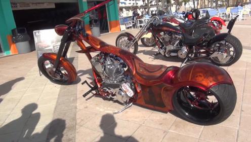 摩托重机聚会,汇集各地名贵摩托车,外形太霸气了!