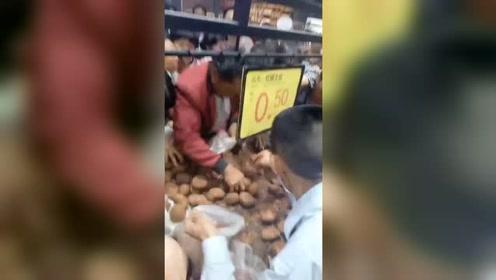 超市土豆5毛钱一斤,对于老人们来说和不要钱似的