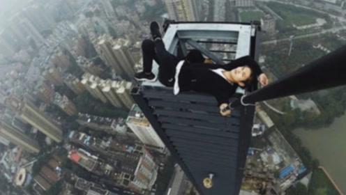 中国高空第一人失手坠亡,最后时刻被曝光,隔着屏幕都觉得无助!