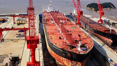 韩国3年造出百万吨巨兽,等于十艘超级航母,技术我国早已掌握
