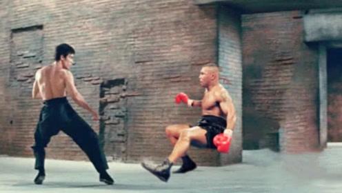 李小龙打得过拳王阿里吗?视频拍下他俩切磋全程,才知差距有多大