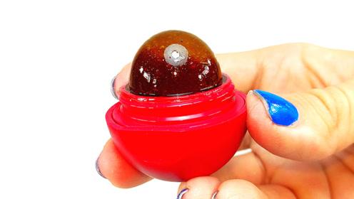 外国女孩脑洞大开,只用它就制成了口红?网友:这个应该可以吃!