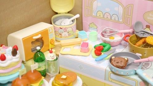 最受日本小孩欢迎仿真甜品店:小草莓蛋糕、烤箱、煎牛排!