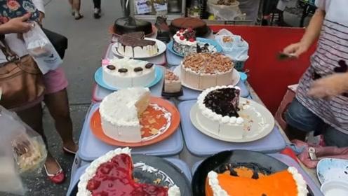 """生日蛋糕一个味?OUT!来围观一次能吃""""十种口味""""的泰国蛋糕"""