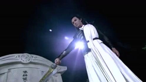 武林盟主的坟上站着一位冰人,融化后竟是个翩翩少年,众人看呆了