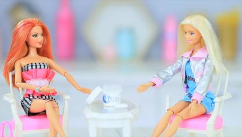 奇趣diy!聪明芭比的玩具,世界上最小的口香糖