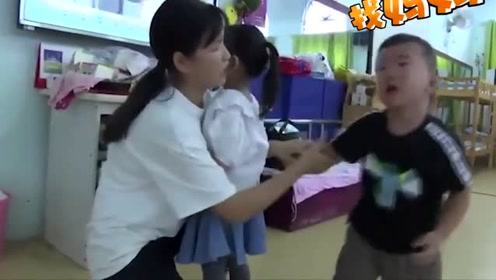 """开学第一天,幼儿园上演""""大型灾难片"""""""