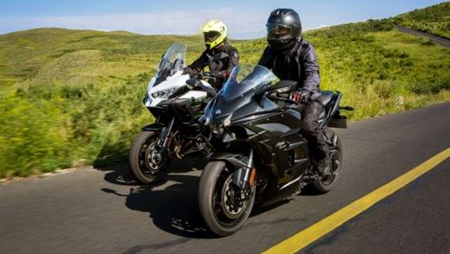车评:这次我们骑着川崎H2 SX和Versys 1000旅行
