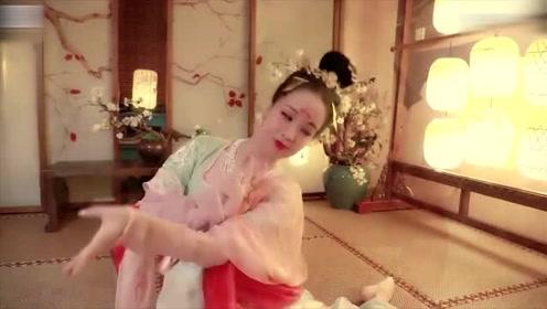 绝美小仙女舞清平乐《长安十二时辰》!飘逸灵动的舞姿,犹如月下清影一般撩动人心