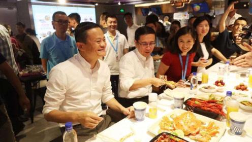 马云和王思聪私人饭局,有钱人的生活真不一样,网友:有钱真好!