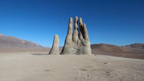 世界上最惊艳的三只手,个个都蕴含寓意,最后一座在中国