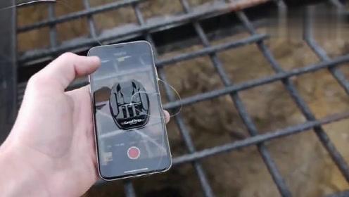 小伙将手机扔进枯井,手机会拍摄到什么画面?