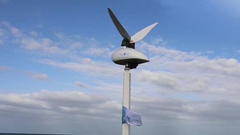 模仿鸟类的风力发电机,灵感来自蜂鸟,比传统风车应用范围更广泛