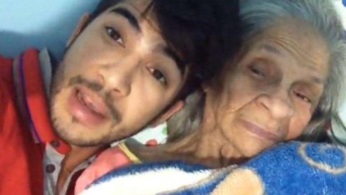 22岁帅气小伙爱上94岁老奶奶,结为夫妻,网友:这才是真爱