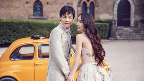郭碧婷向佐在意大利海岛举行婚礼,郭碧婷疑似怀孕向太乐开花