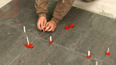国外瓷砖调平工具,1小时贴20平方米,效率极高,工人爱不释手