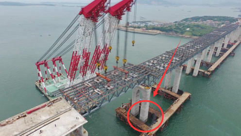 厉害了我的国!大海这么深,跨海大海的桥墩究竟如何打下去?