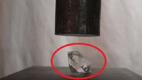 """当液压机遇到钻石!到底谁更硬呢?结局""""完胜""""出人意料"""