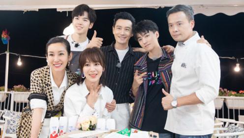 王俊凯离开中餐厅,清唱《再见》,背后还有这么一个故事?