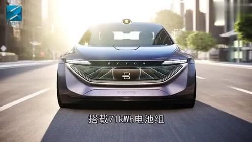 拜腾概念车即将量产,外观科技前卫,内饰空间更加简洁