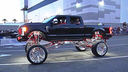 小伙花巨资改装越野车,底盘悬挂都是小儿科,上路时才叫霸气