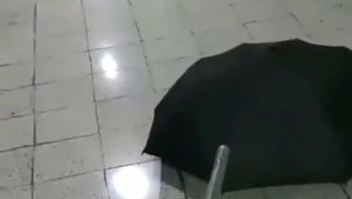 自从被高年级的欺负后,去哪都带着这把雨伞,连朋友都离我远远的