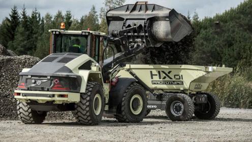 智能化矿用运输卡车,看到它才知道什么叫无人驾驶!