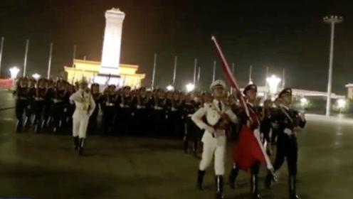 震撼!国庆70周年庆祝活动第二次联合演练圆满结束